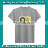 Custom Silk Screen Printing T-Shirts Design For Men Wholesale Mens Apparel Trendy Clothing