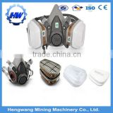 breathing respirators half face gas mask filter chemical respirator & chemical gas