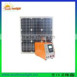 China cheapest wholesale price of 30wcompact solar power system/ small solar system/solar system kit with lowest shipping cost