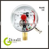 Economic ss316 small electric contact oil filled pressure gauge                                                                         Quality Choice