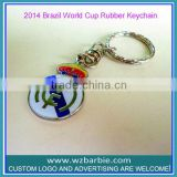 promotional football club logo keychain