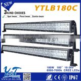 big discount!High Effiency 30 inch 180w spot flood beam led light bar offroad CE FCC Rohs