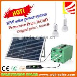 10Watts solar Chrismas systems , solar energy systems , fieldwork use solar lighting systems