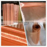 Copper Conductive woven mesh fabric/EMI EMF RF shielding material copper wire mesh