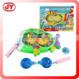 2015 funny battery operated fishing game with music light