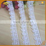 high quality factory price korean white colour embroidery african guipure silk lace fabric market in dubai wholesale