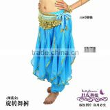 turquoise belly dance harem pants,chiffon costume for belly dancing,belly dance wear,belly dance clothes,belly dancing clothes