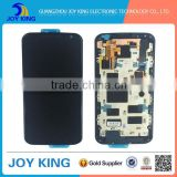 China wholesale replacement lcd screen for moto xt1097, for xt1096 lcd digitizer with frame
