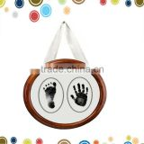 Wholesale baby handprint kits photo frame paint print frame