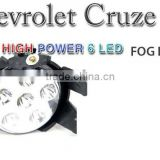 [AUTO LAMP] Chevrolet Cruze - High Power 6LED Fog Lamps Set (WHITE)(no.3256)
