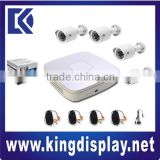 cheap 4ch Home use Full D1 mini DVR with 850TVL Camera DIY cctv Kit package                                                                         Quality Choice