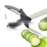 Clever vegetable Cutter 2-in-1 Food Chopper stainless steel clever cutter
