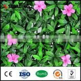 outdoor artificial hedges flower fake plants for privacy