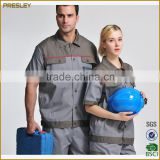 Reflective safety summer shortsleeve workwear on road vis workwear clothing cheap safety coverall workwear uniforms