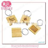 Custom Laser Wooden key chain for tour souvenir (wood Art/crafts in laser-cut & engraving)charm