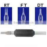 High Quality RT FT DT 19mm Black Disposable Tattoo Tube & Grip all Styles