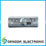 STAINLESS STEEL WALL MOUNTED PUSH EXIT BUTTON SWITCH FOR ACCESS CONTROL