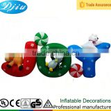 DJ-XT-120 inflatable cartoon animal sleep children christmas joy party decoration