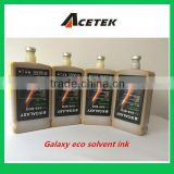 Good fluency eco solvent ink for MIMAKI JV3/JV5, ROLAND SC-540/740 outdoor printer