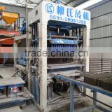 Excellent quality good technology support concrete cement block vibrated making machine LS6-15