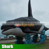 Animatronic ocean animal-shark