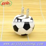 ball shape New brand High quality power battery portable mobile phone car charger                                                                                                         Supplier's Choice