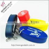 Keychain customized holiday promotional gift pu floating key chain                                                                         Quality Choice