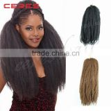 Wholesale Synthetic Braiding Hair Extension MARLEY BRAID Hair                                                                         Quality Choice