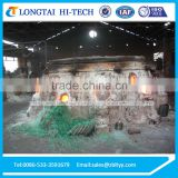 Glass Melting Crucible Furnace For Sale
