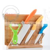 Ultra Sharp Ceramics Knife Set with wooden holder and chopping board                                                                         Quality Choice