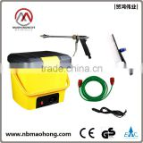 12V 80W mobile automatic car wash machine price low and hand car wash equipment