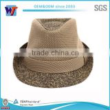 large wool fedora english hats wool felt mini top hats wholesale