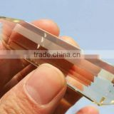 12 Sided Vogel Natural Citrine Cystal Wand , Double points Crystal Healing points for sale