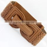 wave double-D woven belt, elastic wide belt,girdle belt