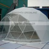 steel frame dome tent for event with pvc fabric,custom printing dome gazebo