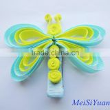 New Design Korean Cute Baby Girls Hairpins Cartoon Ribbon Butterfly Hair Clips Kids Barrettes