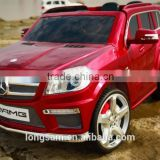 2016 2.4G Remote Licensed Mercedes Benz GL63 AMG Kids Rechargeable Battery Operated Toy Car Official ride on car