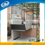 Most People Convenient And Safety Small Galileo Stair Climbing Hydraulic One Person Wheelchair Lift