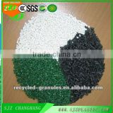 Manufacturers factory price! Recycycled PP Granules/ Copolymer White/Black color for house storage box