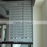 house design exterior aluminum shutters with louver window frame china