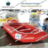 Inflatable kayak/flying inflatable water sled