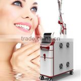 China Factory Direct Selling ! 532/1064nm Nd yag diode beauty laser tattoo removal device with skin rejuvenation