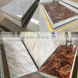 Interior wall decoration panel , Imitation Marble for Indoor Decoration Use Nature 4-A Marble Texture 3D Wall Panels
