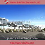 Low Cost Metal Structure Toll Gate Steel Truss System