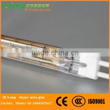 quartz halogen lamp 2200w,quartz halogen heating tube,infrared quartz heater replacement lamp