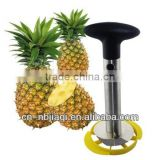 Stainless steel Pineapple Slicer with Wedger , pineapple peeler corer slicer , pineapple corer slicer