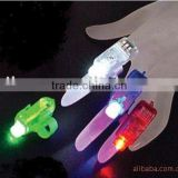 Magic LED Laser Finger Ring Lamp Lights Beam Torch Party Glow