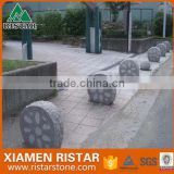 Square granite parking stone bollard stone pillar DIS-P028