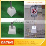 High quality portable road sign concrete base