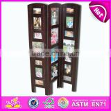2015 New kids Wooden shelf toy,popular decorative children wooden shelf toy, hot sale Screen wall mount display shelf WJ278471